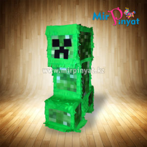 Пиньята-Minecraft-creeper