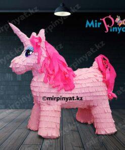 Пиньята пони розовая